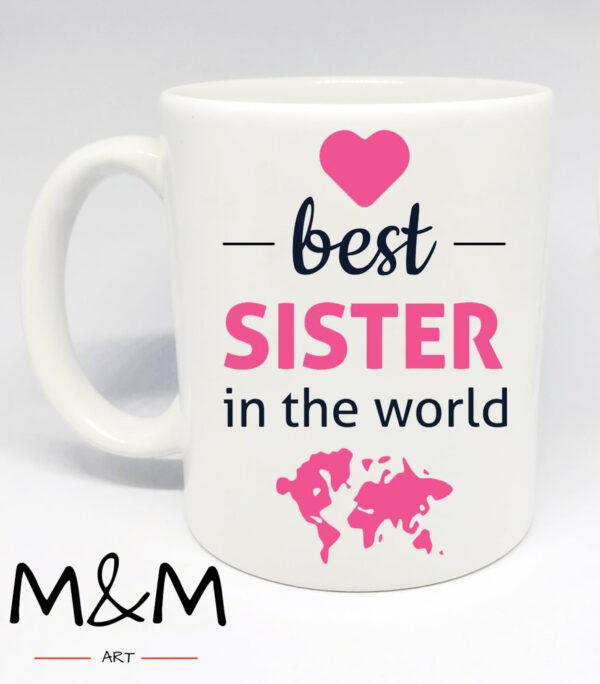 """Чаша """"Best Sister"""""""