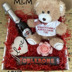 """Подаръчна кутия """"Teddy"""""""