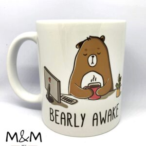 "Чаша ""Bearly awake"""
