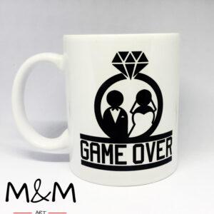 "Чаша ""Game over"""