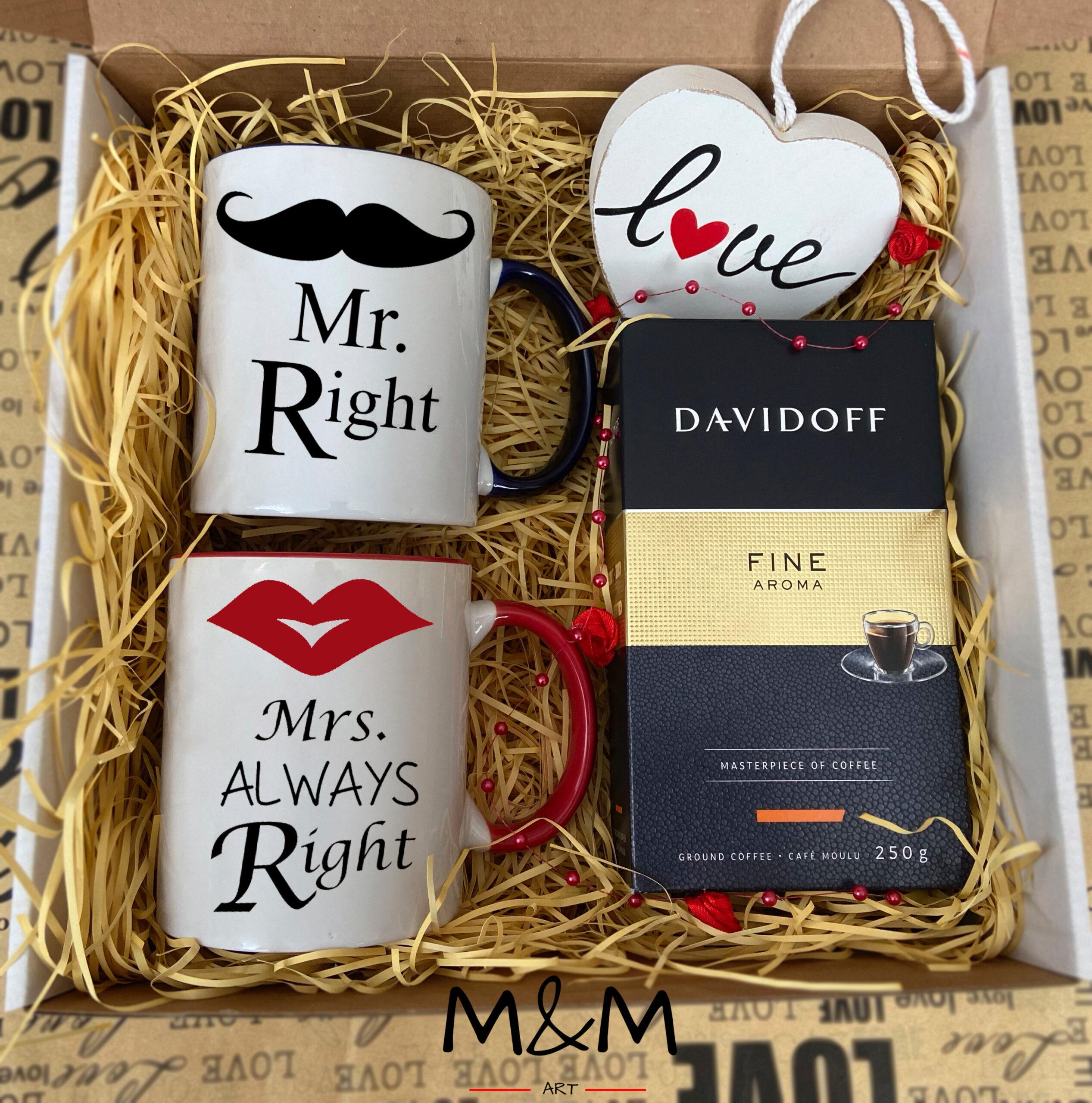 """Подаръчна кутия """"Mr&Mrs"""""""