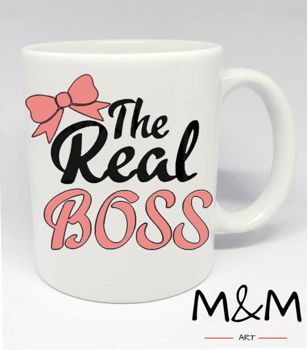 """Чаша """"The real boss"""""""